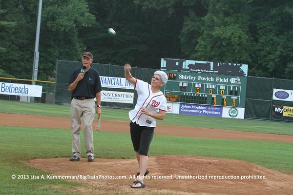 vs. Prestman Cardinals, 7/18/2013, Pregame and Fans