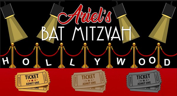 Ariel's Hollywood Bat Mitzvah