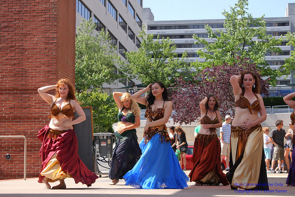 2012 Rossini Festival - Bellabelly Dancers