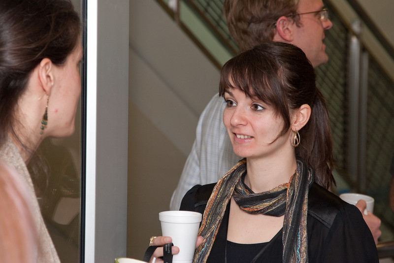 Suzanne Nowicki -- March 2011 new staff welcome coffee, Astrophysics Science Division, NASA/ Goddard Space Flight Center