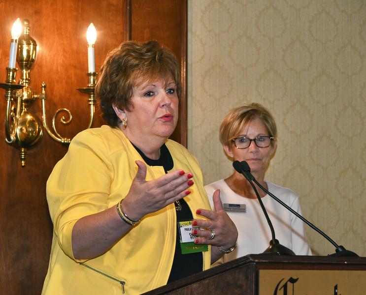 Paula Stopera, CEO of CAP COM Federal Credit Union