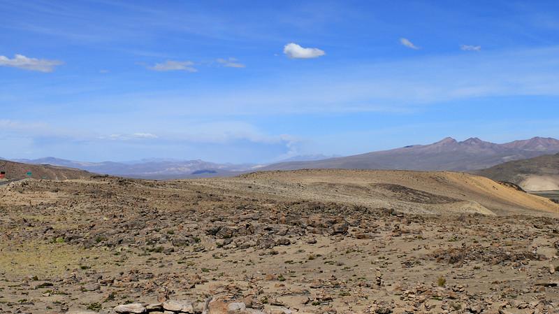 Just some random volcano erruption in the distance