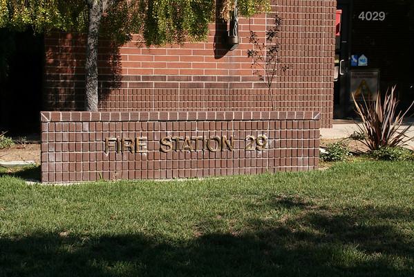 Kindergarten Firehouse Visit 10-16-08