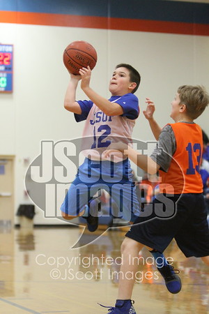 2017-12-12 Pee Wee Boys Basketball at Jesup
