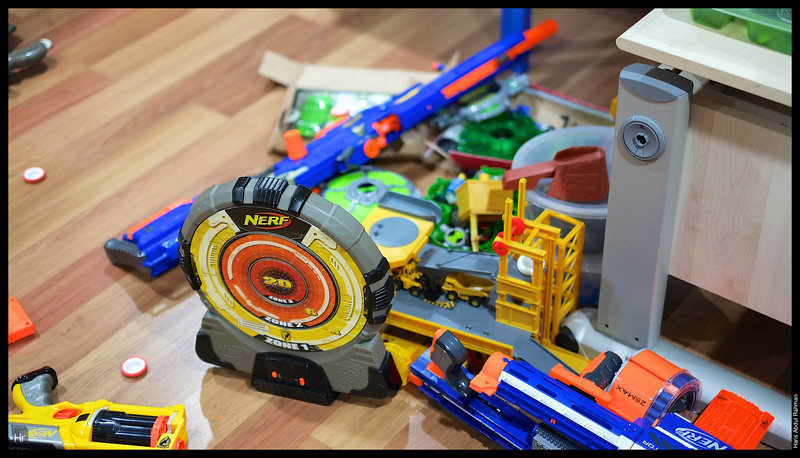 It was all the Nerf!