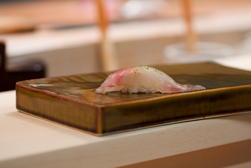 Course #10: Sushi Sushi #3: Red Snapper