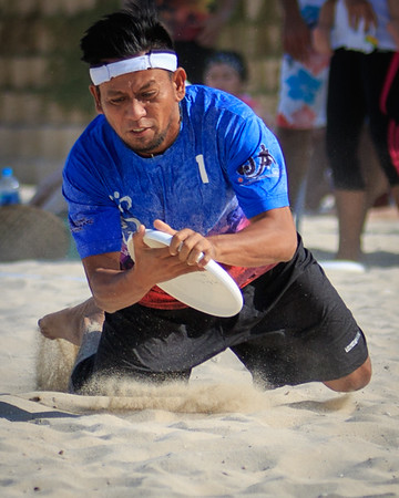 2014 Dubai Beach Ultimate Hat tournament
