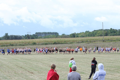 Charlevoix Mud Run - Freshman and Sophomore  Boys Start