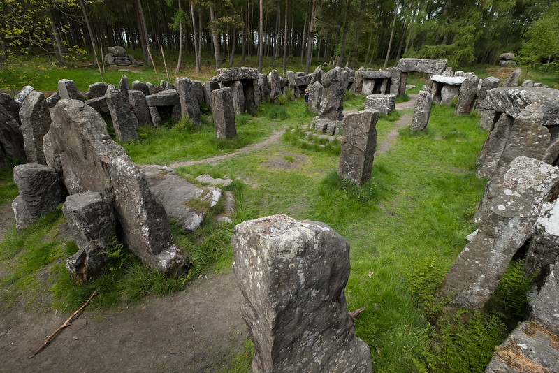 The Druids Temple, near Masham