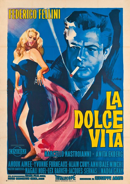 La Dolce Vita (1960) - Films set in Italy