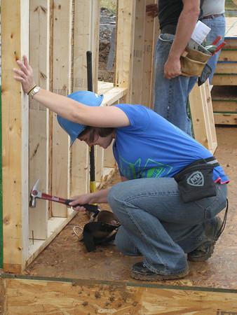 Thrivent Builds Wall Raising 2010