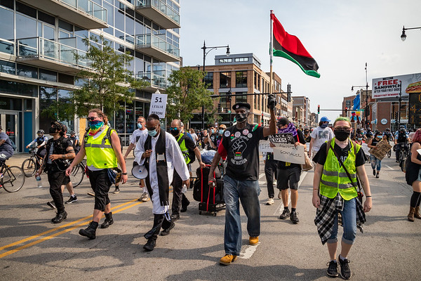 Chicago March Against Police Brutality - 8/15/20