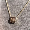 'For You I Live' 18kt Rose Gold Cast Rebus Pendant, by Seal & Scribe 9