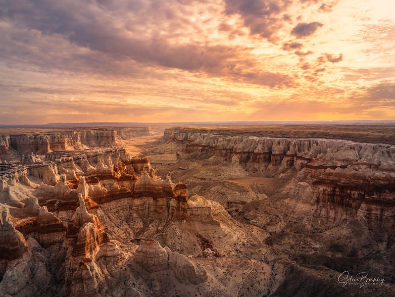 Coal Mine Canyon Sunrise V