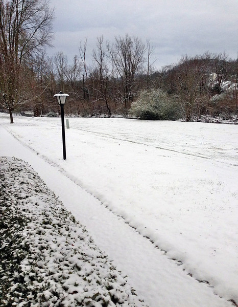 First 2013 Snow in Middle Tennessee February 2