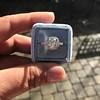 1.59ct Antique Cushion Cut Diamond Halo Ring GIA K VS2 8