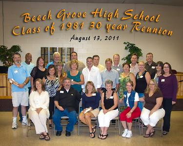 BGHS 1981 30yr Reunion