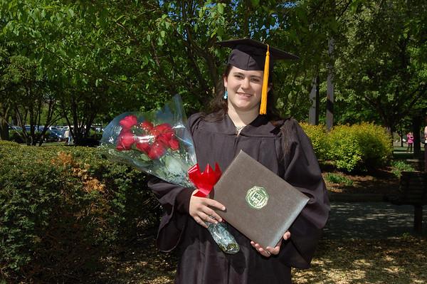 Maureen Miller BGSU Graduation