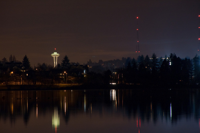 Space Needle from Greenlake