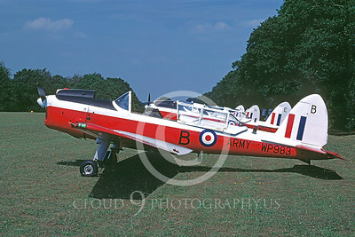 British RAF  de Havilland Chipmunk  Military Airplane Pictures