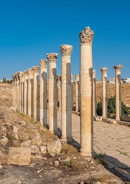 South Decumanus, Jerash