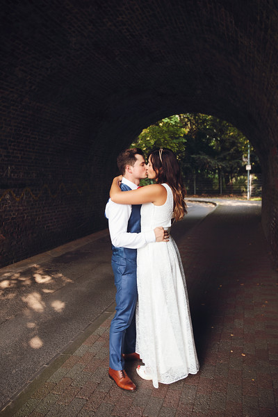 Vitali & Veronika Wedding. Krefeld, Germany, 2017.
