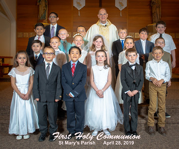 St Mary's First Communion  2019