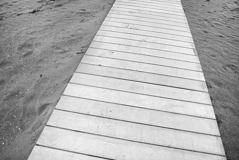 Boardwalk - Milano Marittima, Cervia, Ravenna, Italy - April 24, 2019