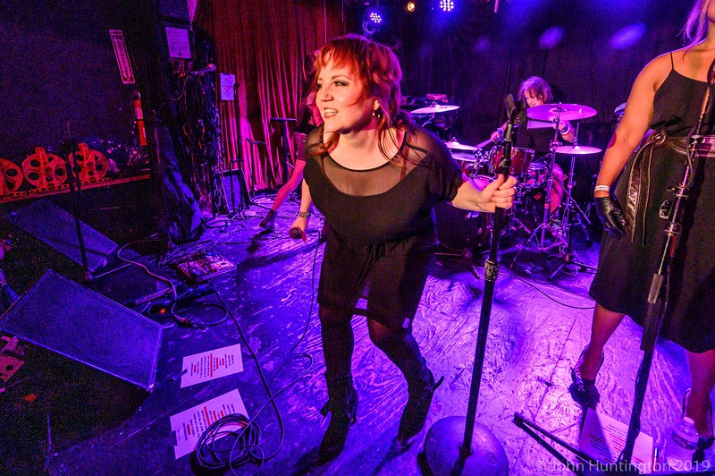 Cathy Cervenka at Michael T & Cathyland present SUMMER SOUNDS OF '79: New Wave/Power Pop Explosion! July 3rd, 2019 At Arlene's Grocery