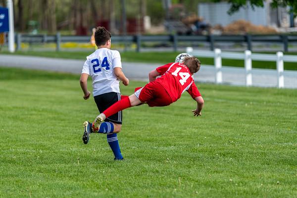 Soccer - Warren United Bobcats vs Red Tide - 5-2-2021