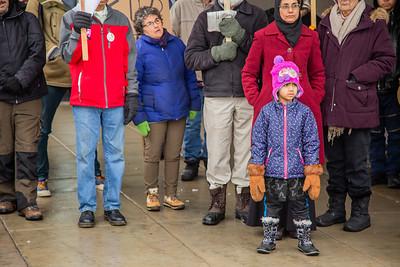 Hands Off Veneuela, Minneapolis, February 23