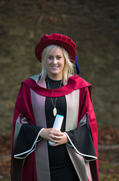 02/11/2017. Waterford Institute of Technology Conferring. Pictured is Áine Murphy from Crossabeg , Wexford who was conferred a PhD. Picture: Patrick Browne