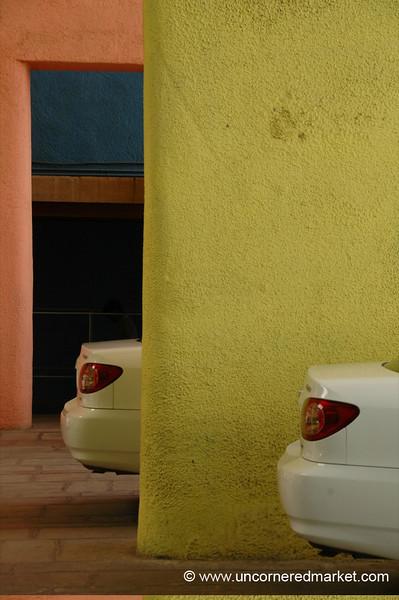 Mirrored Cars - Chandigarh, India