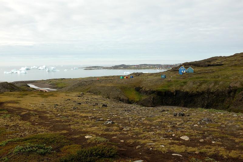Looking Back at Qeqertarssuaq