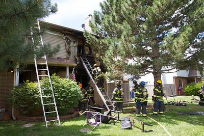 Apartment Fire 9000 W. Westlawn (7/16/17)