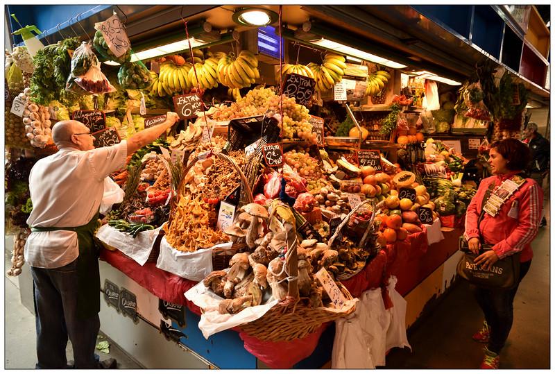 Market stall, Malaga