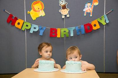 Maddox & Janson's 1st Birthday