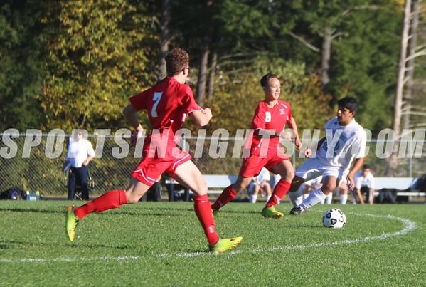 Sullivan West vs. Liberty Boys Soccer 10-12-16