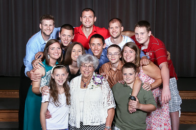 Maurer/Anderson Family Pictures & Lois's 80th Birthday Party