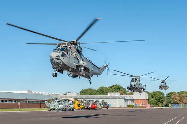 Sea King MK7 Helicopter
