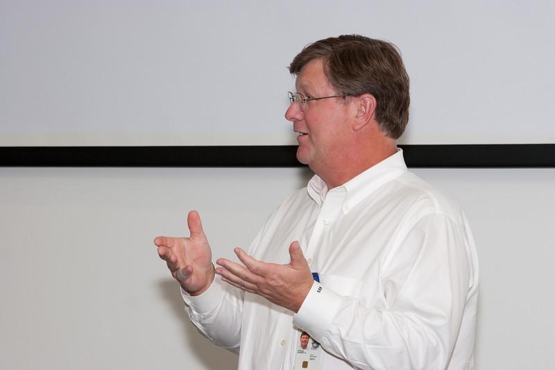 GSFC Center Director Rob Strain -- Celebration of Peter Serlemitsos' 50 years at NASA/Goddard Space Flight Center (Sept 2011)