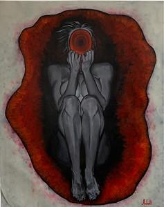 """honey, tell me you were joking"" (acrylic on canvas) by Elena Adaibekova"