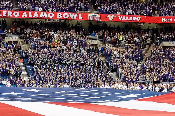 """2015 ALAMO BOWL, """"GAME, BAND, FLAG, PRE-GAME & ACTION"""""""