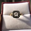 .53ctw Rose Cut Halo Ring, by Single Stone 26