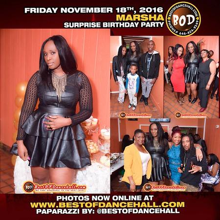 11-18-2016-BRONX-Marsha Surprise Birthday Celebration