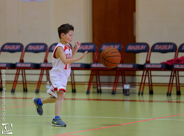 Grayson's 1st Season Closing Day B-Ball