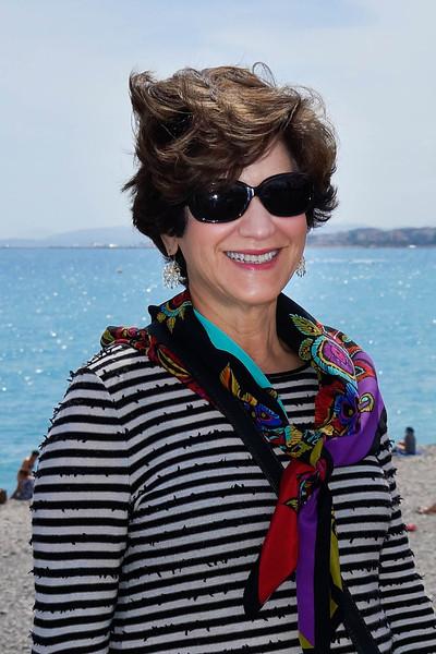 Ruth Ann Lawson at Nice, France