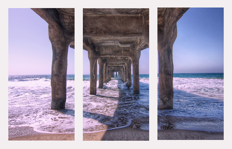 triptych under pier blue.jpg