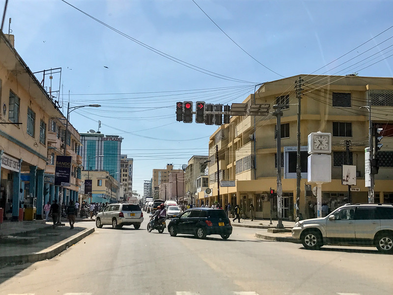 This used to be the only stop light in Mwanza