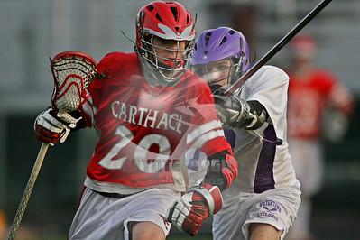 4/18/2013 - JR VARSITY - Carthage vs. Watertown - Watertown High School, Watertown, NY
